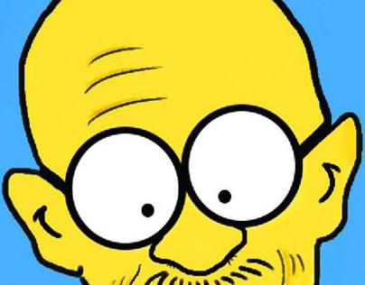 Gandhi Simpson