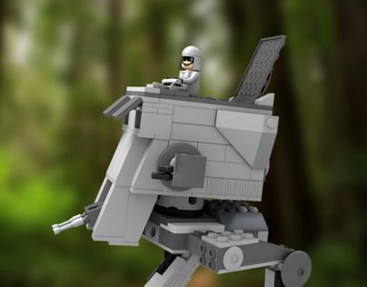 Starwars Lego AT-ST Walker