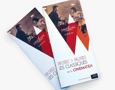 CINEMATEK Leaflet