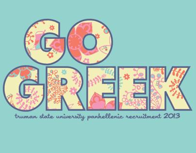 Go Greek Branding