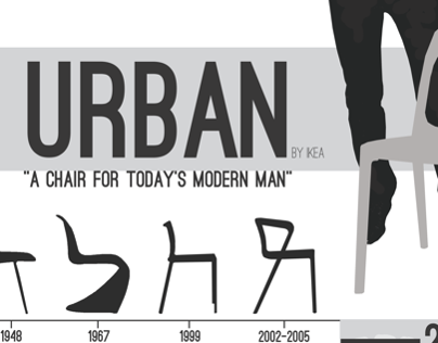 'Urban' Chair Poster