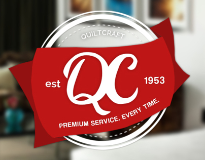 Re-branding Project for Quiltcraft