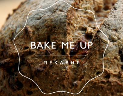 Bake me Up. Bakery identity