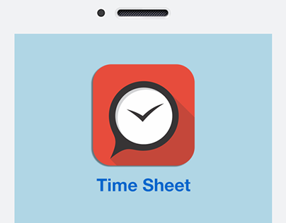 iOS Timesheet App Concept