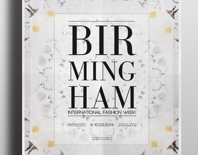 Birmingham Fashion Week Poster