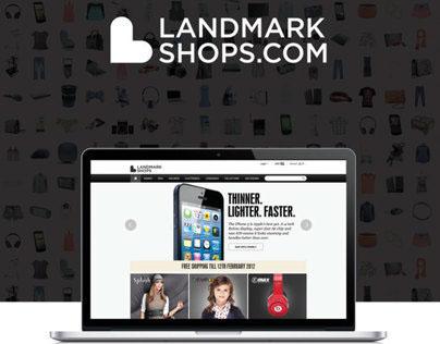 LandmarkShops.com Poster