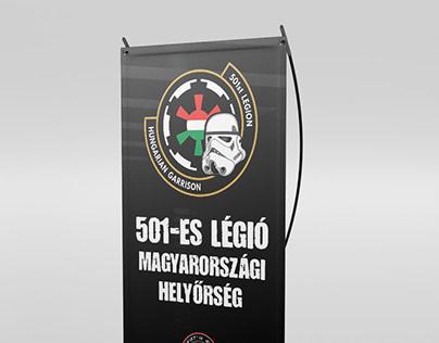 Xbanner designs for the 501st Legion Hungarian Garrison