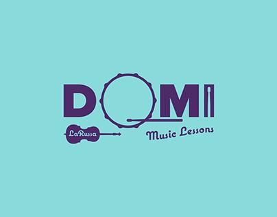 Domi Music Lessons Logo