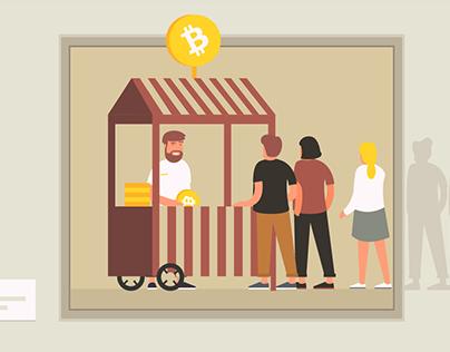 Bitcoin School - illustration