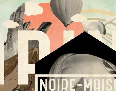 NOIR-MAISON Lapin Blanc Cover