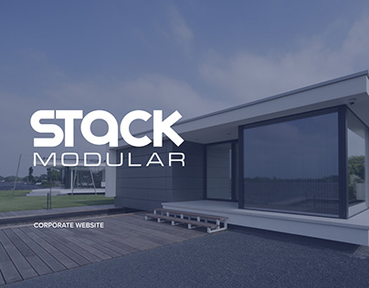 Stack Modular — Corporate website. Redesign