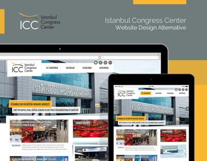 ICC Istanbul Congress Center Website Design Alternative