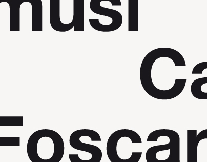 MusiCa Foscari - identity