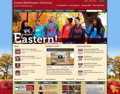 EWU Website Redesign