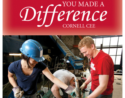 """""""You Made a Difference"""" Card for CEE"""