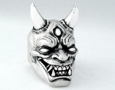 Oni Demon Sculpture