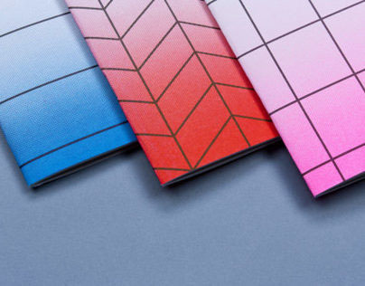 Risograph printed notebooks
