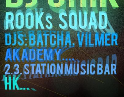 Smash up 2. flyer/poster 2011