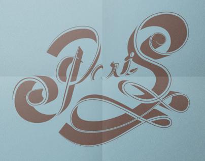 Vintage lettering...