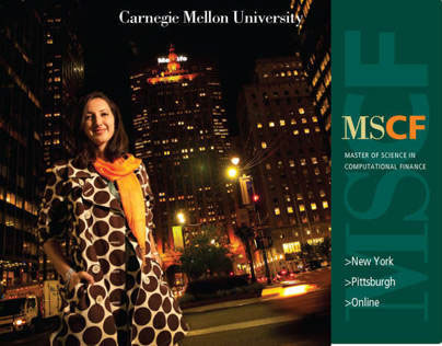 Carnegie Mellon University MSCF Program Viewbook