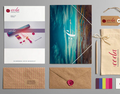 Coda Events & Fundraising: Branding and Logo Design