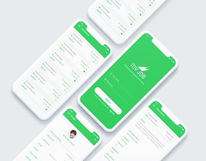 My Job App Design