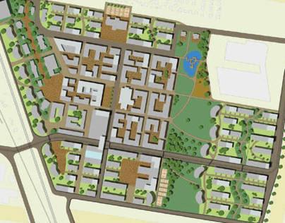 Urban project Nucleopoldau