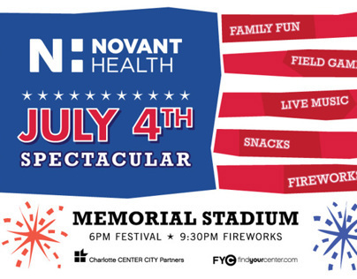 Novant Health July 4th Spectacular