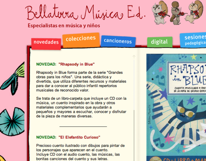 Bellaterra Música website