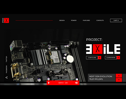 EXILE Custom Computer Hardware