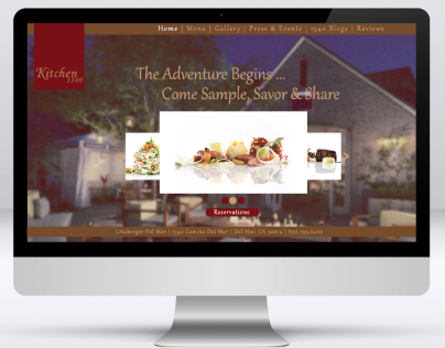 Website Interface Design