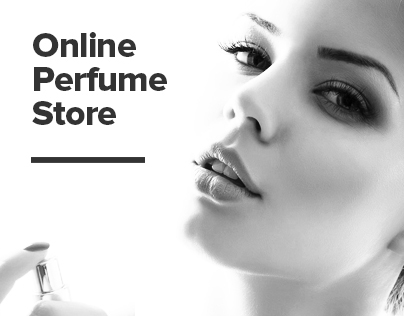 Perfume shop. Online store perfume.