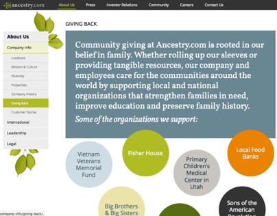 Ancestry.com Corporate Site