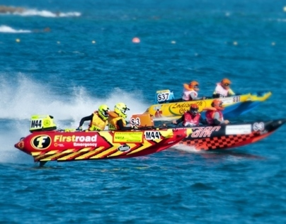 """Trans Agulhas""  The 'World's Toughest Inflatable Race"