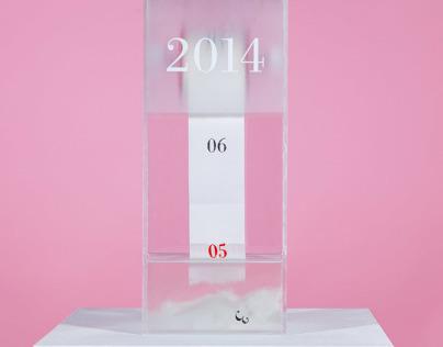 Dissolving Calendar