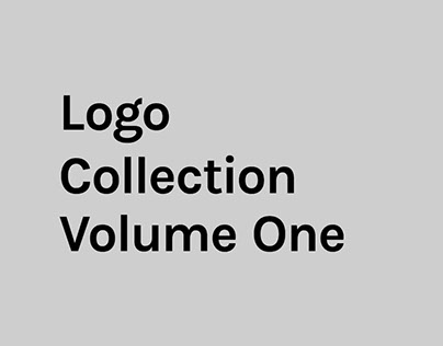 Logo Collection Volume One