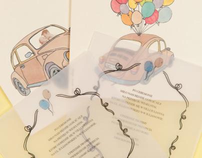 Wedding Invitation for Agata & Gracjan