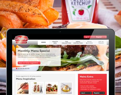 Heinz B2B Website