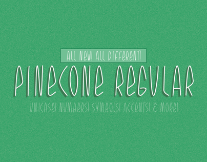 Pinecone Font
