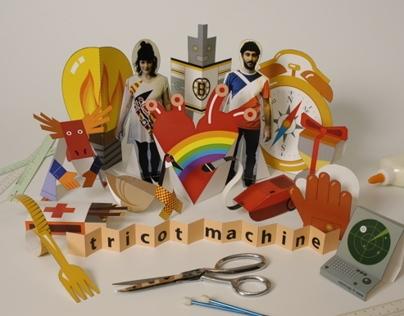 CD cover - Tricot machine