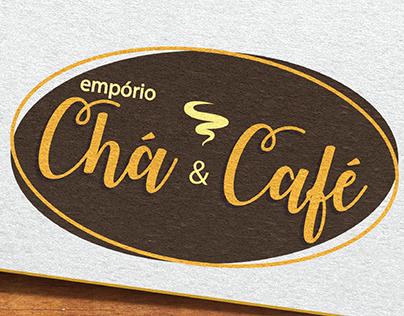 Empório Chá & Café - Logo Design