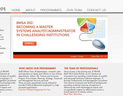 DevonKristos User Interface Design