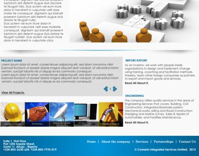 Comarin Web Interface