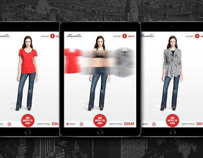 Kenneth Cole NY iPad App Design