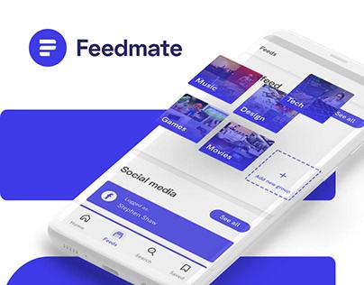 FEEDMATE mobile app (concept)