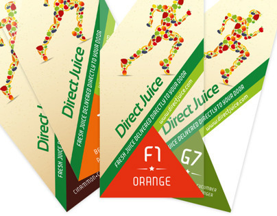 Direct Juice Label Redesign