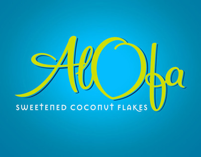 Alofa product logo and packaging