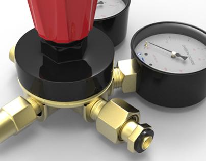 3D Product Design: Valve