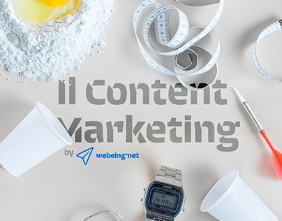 Il Content Marketing by Webeing: l'infografica