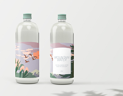 Packaging design - Mountain Water